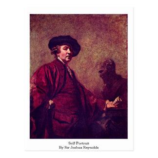 Autoportrait par monsieur Joshua Reynolds Carte Postale