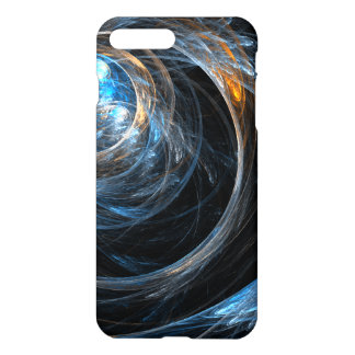 Autour de l'art abstrait du monde brillant coque iPhone 7 plus