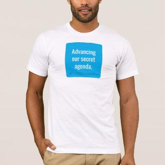 Avancement de notre T-shirt secret d'ordre du jour