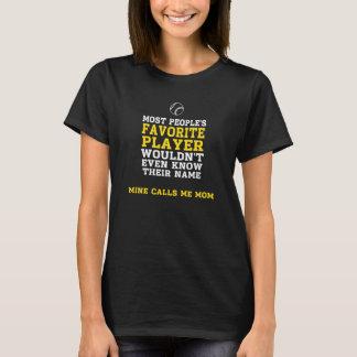 Avant de chemise foncé de joueur préféré du BB/SB T-shirt