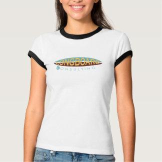 Avant de consultation de Longboard seulement T-shirt