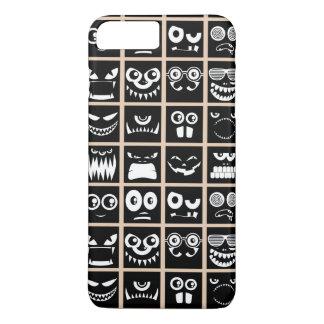 Avatars de Halloween - noir Coque iPhone 7 Plus