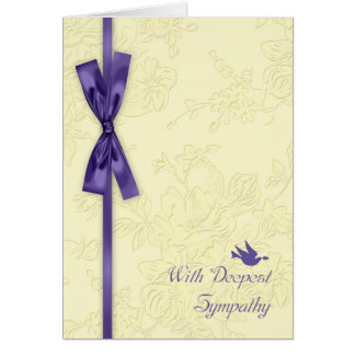 Avec la sympathie, écrémez l'effet de relief avec carte de vœux