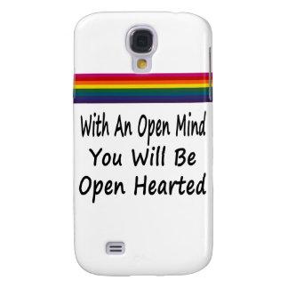 Avec un esprit ouvert vous serez Hearted ouvert Coque Galaxy S4