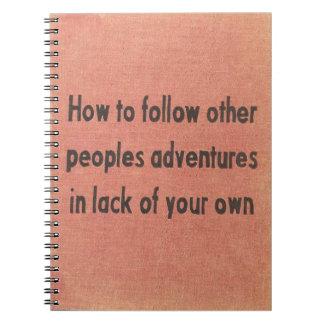 aventure carnet