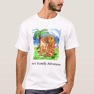 Aventure de la famille de Jesse - Style2 T-shirt