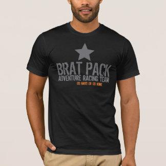 Aventure de paquet de gosse emballant le T-shirt