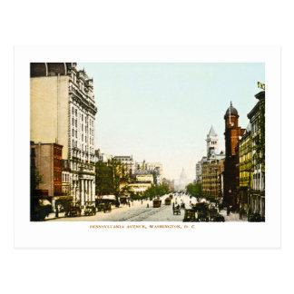 Avenue de la Pennsylvanie, DC de Washington Carte Postale