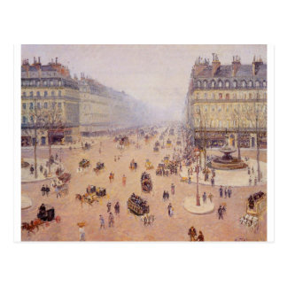 Avenue de l'Opera, Place du Thretre Francais Cartes Postales