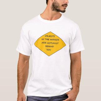 Avertissement d'objets t-shirt