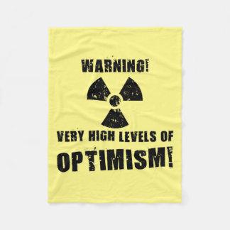 Avertissement ! Hauts niveaux d'optimisme !