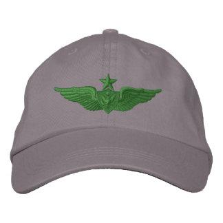 Aviateur d'aîné d'armée casquettes de baseball brodées