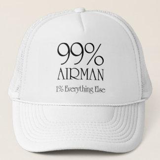 Aviateur de 99% casquette