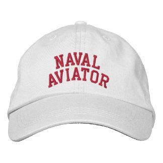 Aviateur naval casquettes brodées
