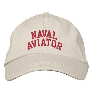 Aviateur naval casquettes de baseball brodées