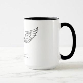 Aviateur par la tasse de café Arabe