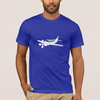 Avion bleu t-shirt