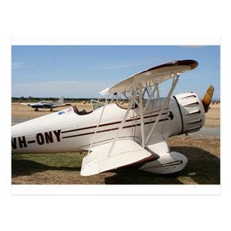 Avions de biplan de Waco Carte Postale