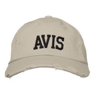 Avis a brodé le casquette chapeau brodé