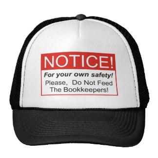 Avis/comptable Casquette Trucker