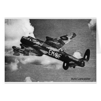 Avro-Lancaster Carte