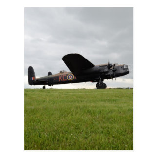 Avro Lancaster sur The Field Carte Postale