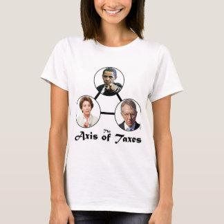 Axe de T-shirt de dames d'impôts