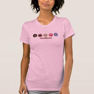 Axe et T-shirt (rose) de marqueurs de pays