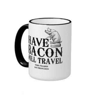 Ayez le lard voyagera mug ringer
