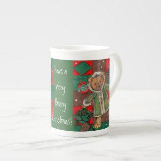 Ayez très Noël de Beary ! tasse ~teddy d'ours
