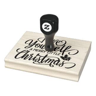 Ayez vous-même un joyeux petit timbre de Noël