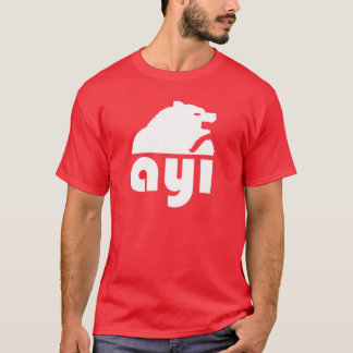 (Ayı) ours turc de S T-shirt