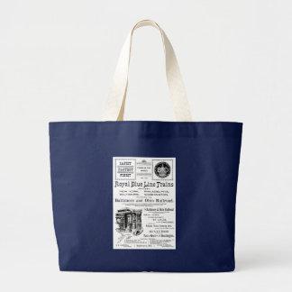 B+O Blue Line royal forme le sac fourre-tout à