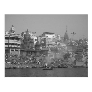 B&W le Gange Carte Postale