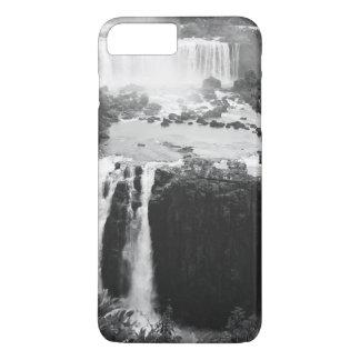 B&W les chutes d'Iguaçu Coque iPhone 7 Plus