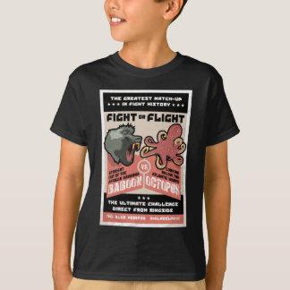 BABOUIN CONTRE OCTOPUS.png T-shirt