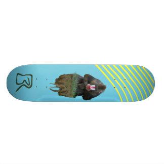 Babouin de flottement plateau de skateboard