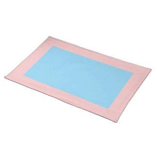 Baby Roze en Blauwe Placemat