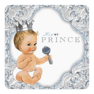 Baby shower van de Prins van het baby het Blauwe Kaart