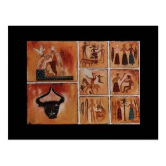 babylonius de mesopotamius carte postale
