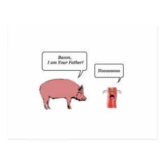 Bacon, ben ik Uw Vader Briefkaart