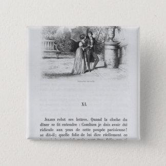 BADGE CARRÉ 5 CM