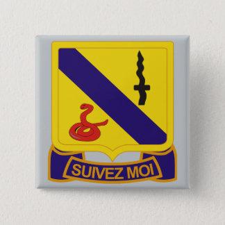 Badge Carré 5 Cm 14ème Régiment de cavalerie blindée