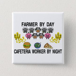 Badge Carré 5 Cm Agriculture de mon café