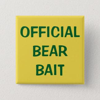 Badge Carré 5 Cm Amorce officielle d'ours