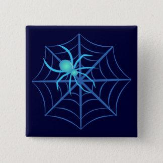 Badge Carré 5 Cm Araignée en cristal