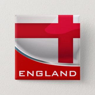 Badge Carré 5 Cm Bouclier de l'Angleterre