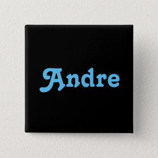 Badge Carré 5 Cm Bouton André