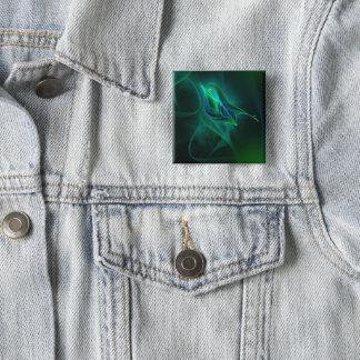 Badge Carré 5 Cm Bouton bleu V.1.0 de roitelet