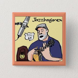 Badge Carré 5 Cm bouton carré de jazzbanjorex